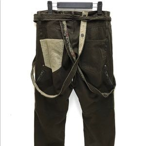 Other - Vintage Japanese pants with hem and drawstring